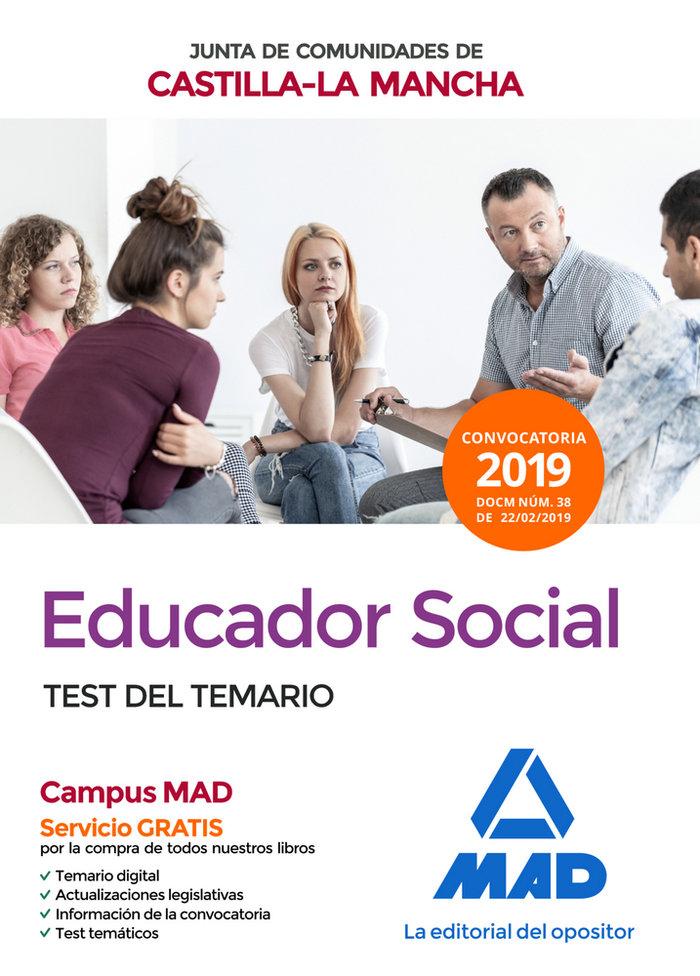 Educador social junta comunidad castilla mancha test