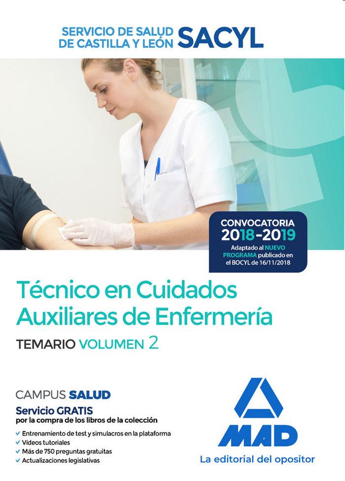 Tecnico cuidado auxiliar enfermeria castilla leon vol 2