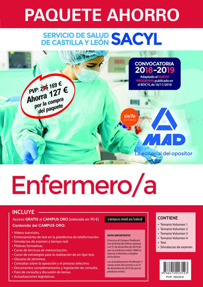 Paquete ahorro enfermero/a del servicio de salud de castilla