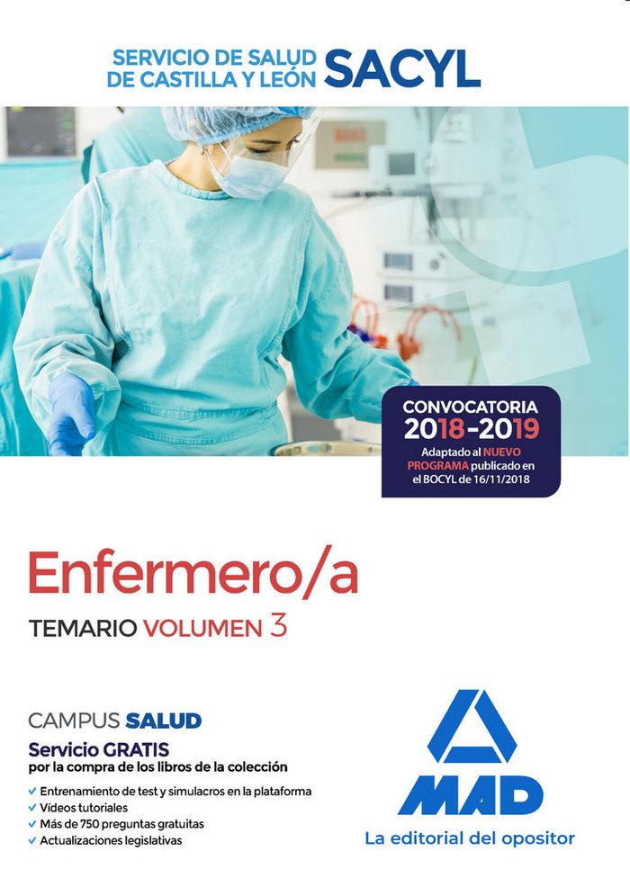 Enfermero/a servicio salud castilla leon vol 3