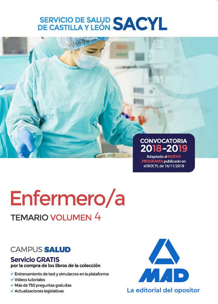 Enfermero/a servicio salud castilla leon vol 4