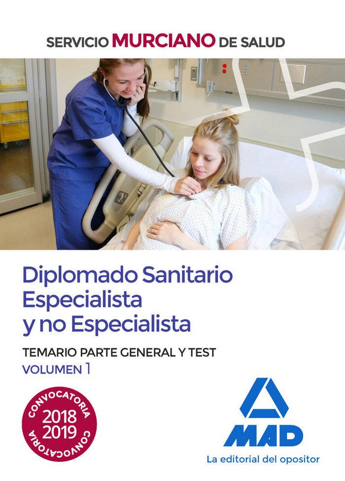 Diplomado sanitario especialista y no especialista vol 1