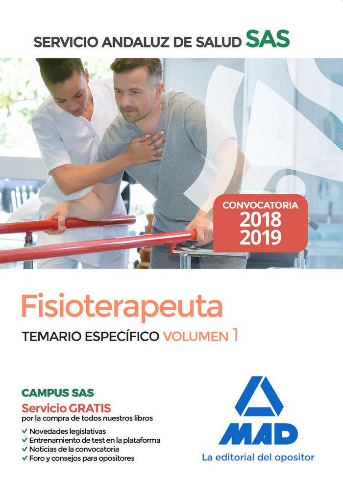 Fisioterapeuta servicio andaluz salud temario espec vol 1