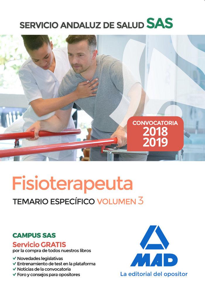 Fisioterapeuta servicio andaluz salud temario espec vol 3