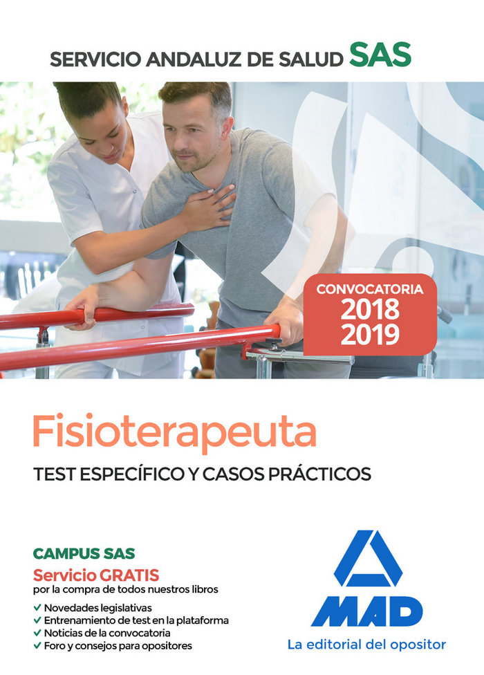 Fisioterapeuta servicio andaluz salud test especifico