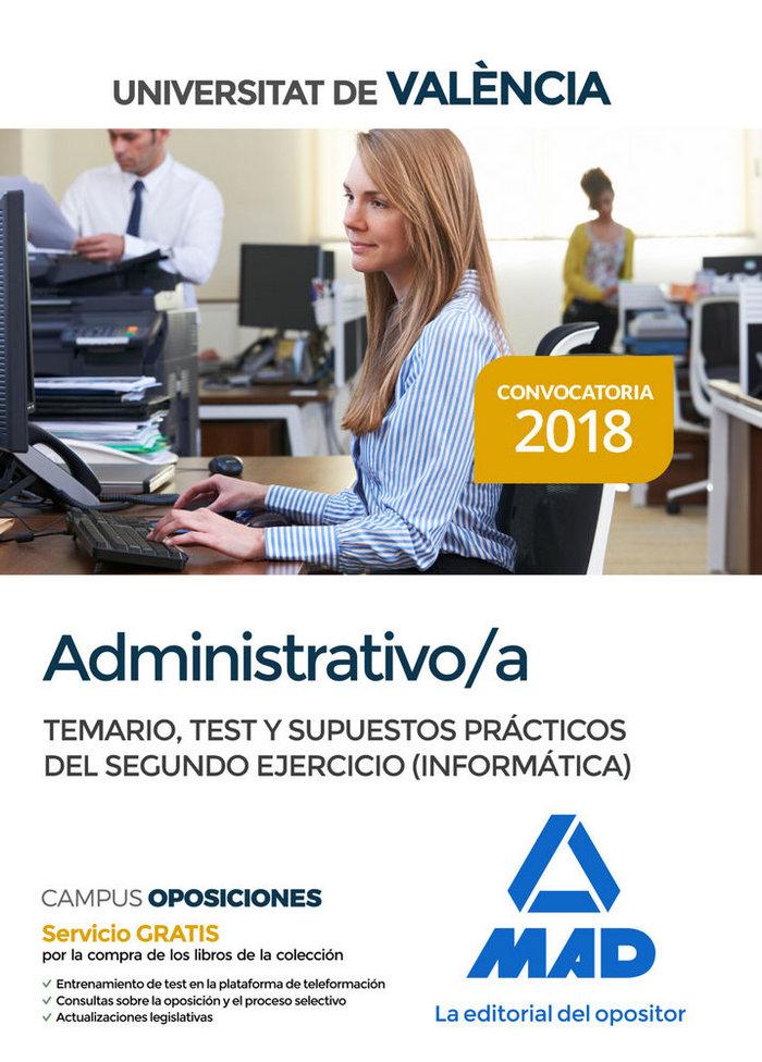 Administrativo universitat valencia supuestos practicos