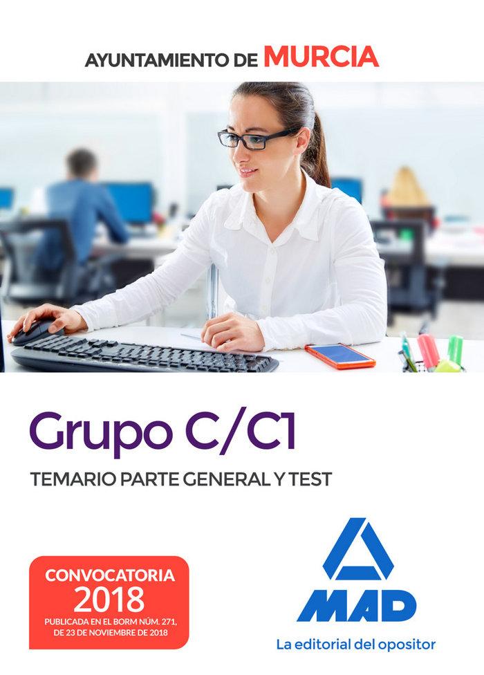 Grupo c/c1 ayuntamiento murcia temario parte general test