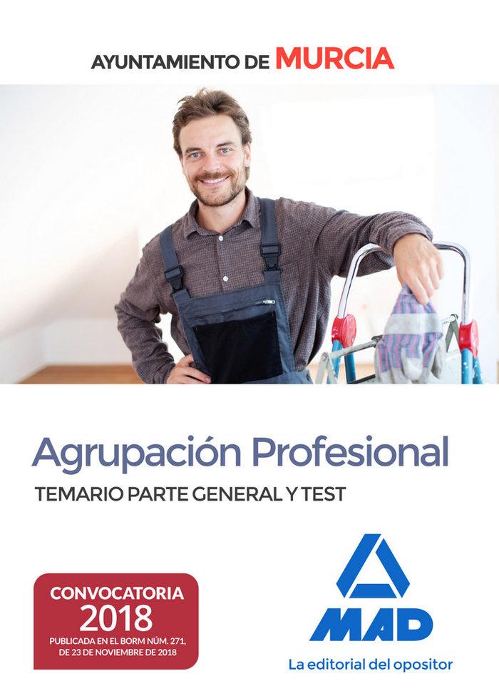 Agrupacion profesional ayuntamiento murcia temario test