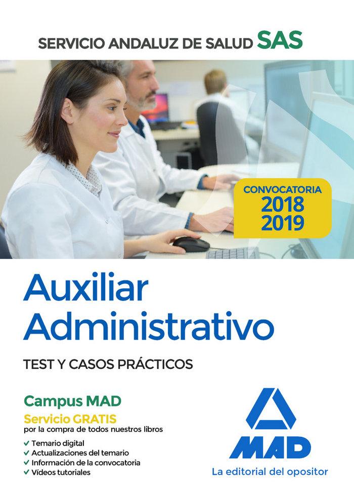 Auxiliar administrativo servicio andaluz salud test