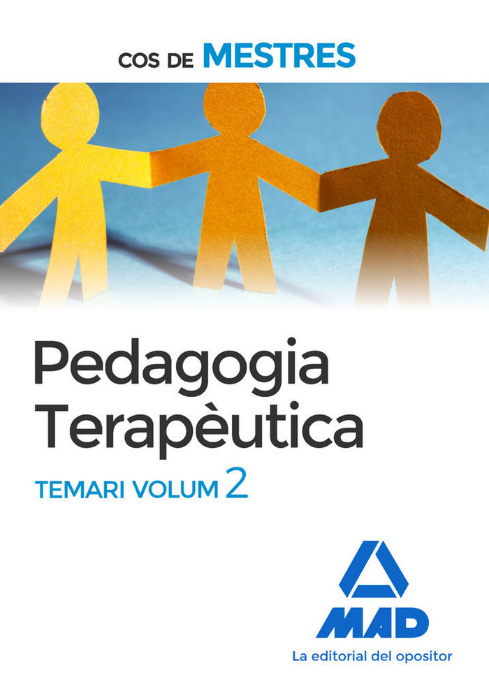 Cos de mestres pedagogia terapeutica temari volum 2