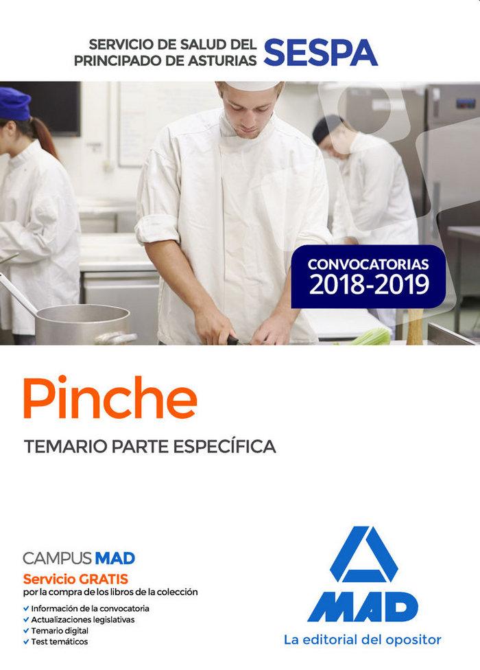 Pinche servicio salud principado asturias temario especific