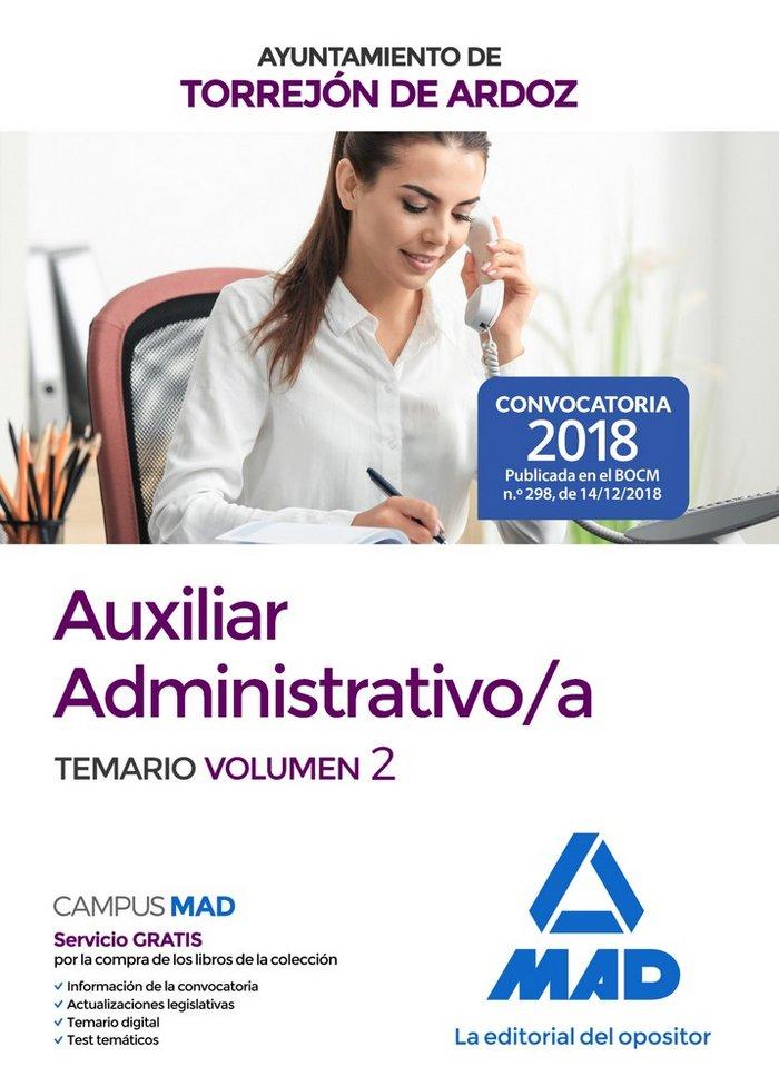 Auxiliar administrativo/a  ayuntamiento torrejon ardoz v 2