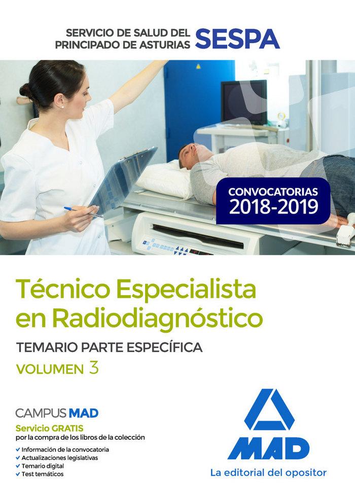 Tecnico especialista radiodiagnostico asturias vol 3