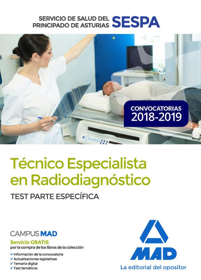 Tecnico especialista radiodiagnostico servicio asturias