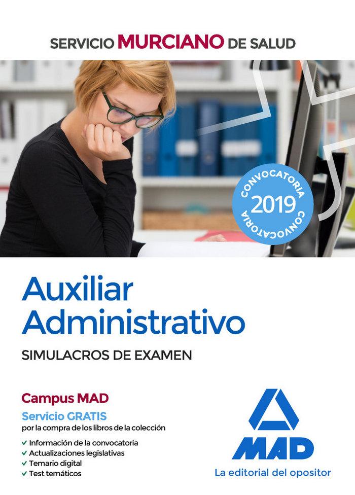 Auxiliar administrativo servicio murciano salud simulacro e