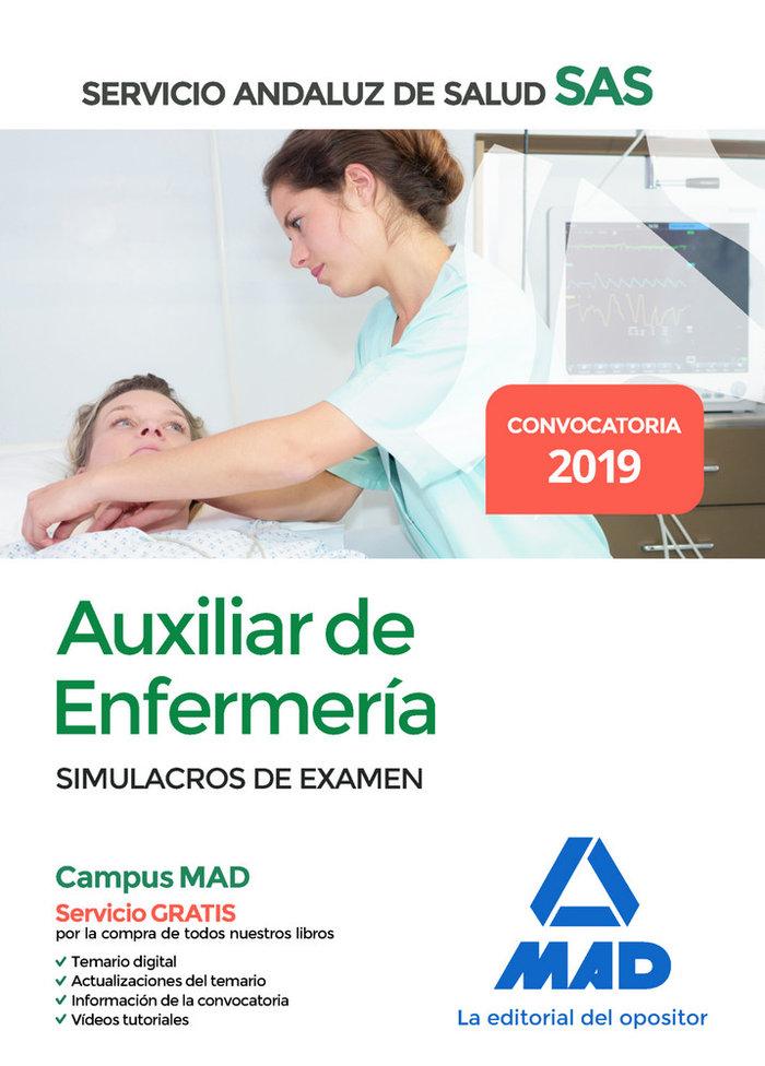 Auxiliar enfermeria servicio andaluz salud simulacro examen