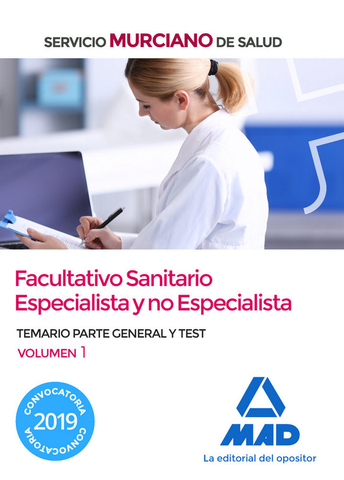 Facultativo sanitario especialista y no especialista murcia
