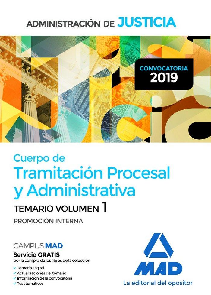 Cuerpo tramitacion procesal y administrativa vol 1