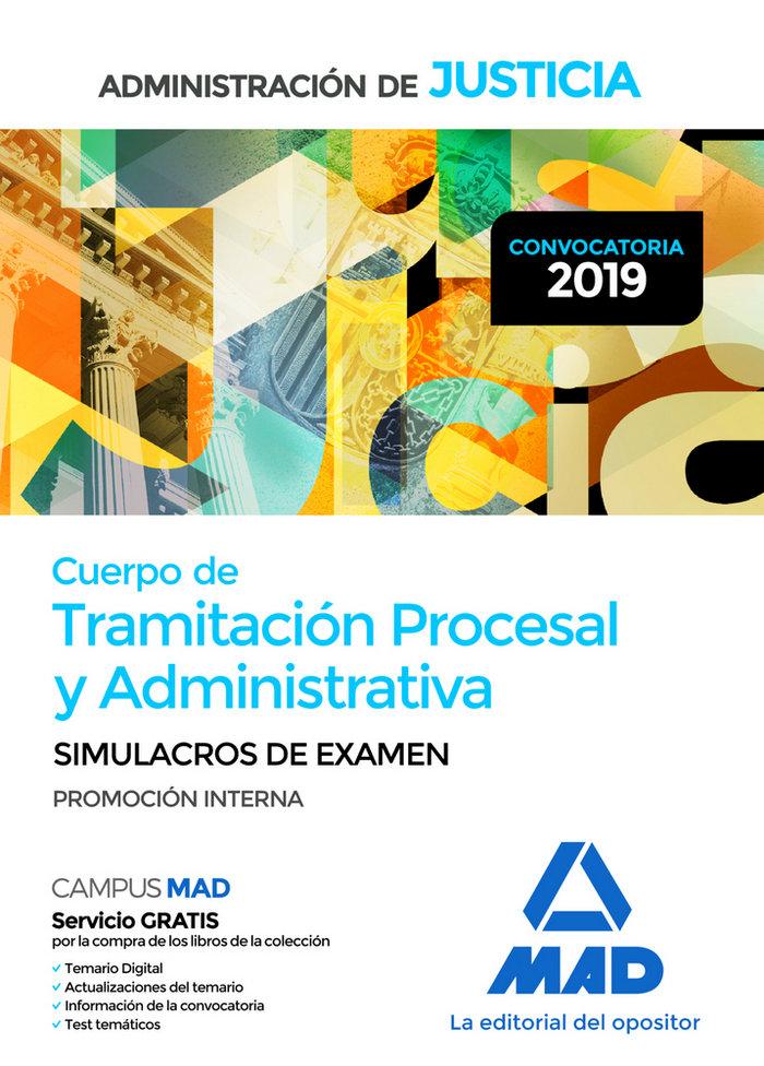 Cuerpo tramitacion procesal y administrativa simulac examen