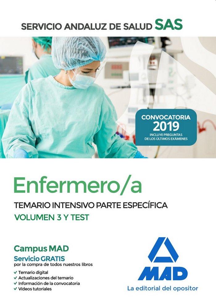Enfermero/a servicio andaluz salud temario intensivo vol 3