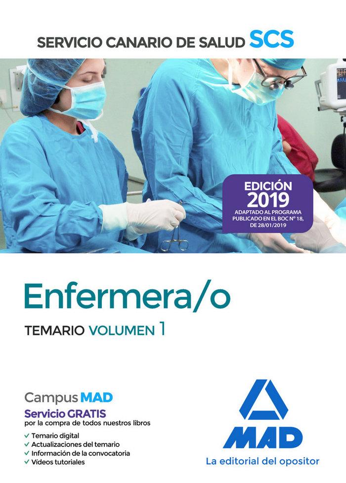 Enfermera/o 2019 vol 1 servicio salud canario
