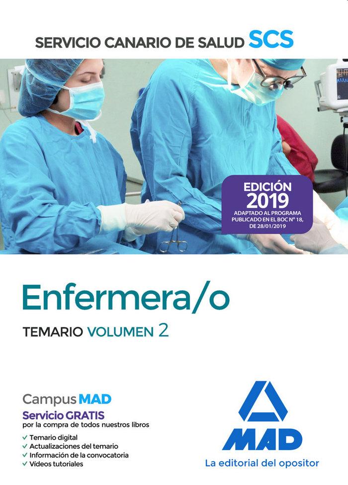 Enfermera/o 2019 vol 2 servicio salud canario
