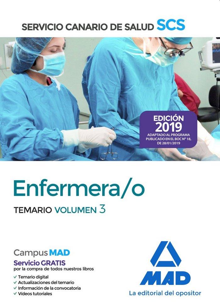 Enfermera/o 2019 vol 3 servicio salud canario