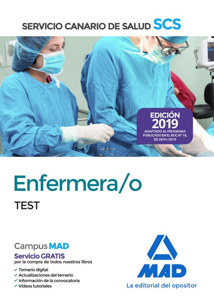 Enfermera/o 2019 test servicio salud canario