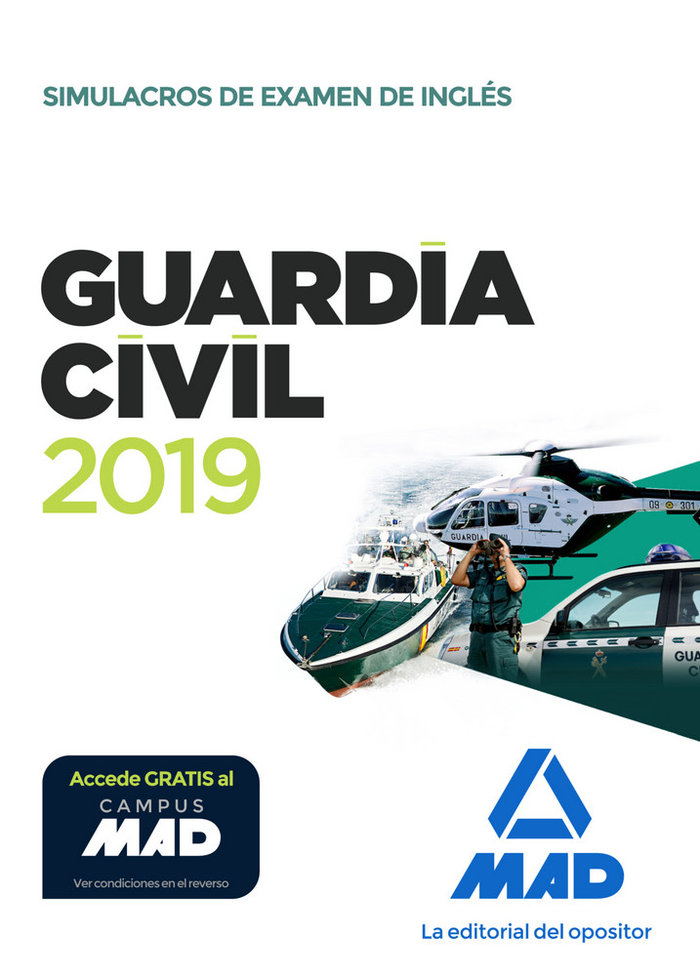Guardia civil 2019 simulacros examen ingles