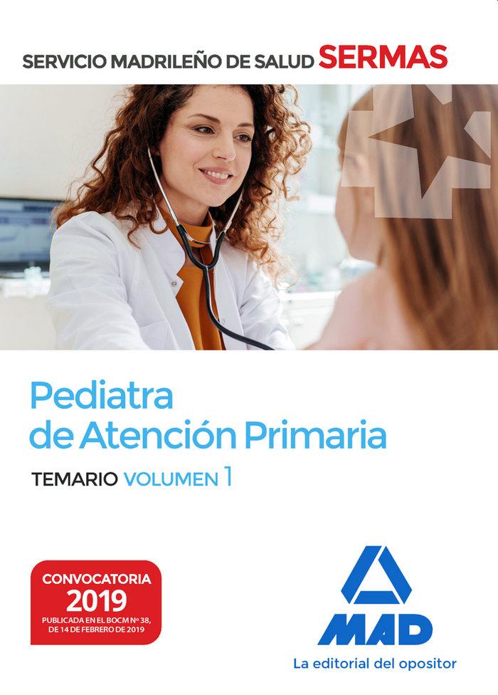 Pediatra de atencion primaria del servicio madrileño de salu