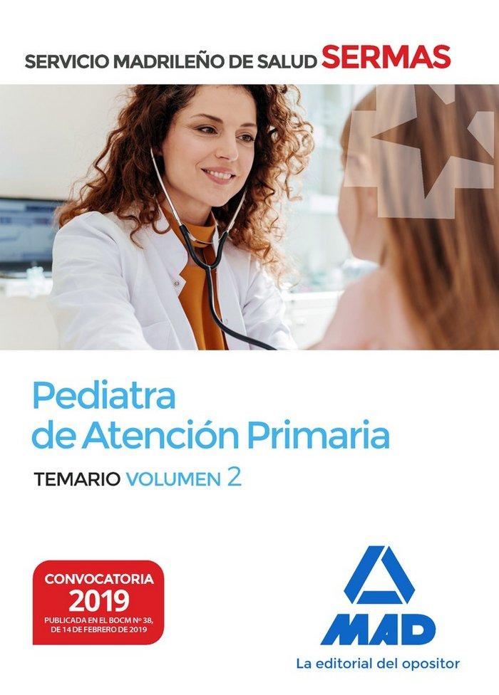 Pediatra atencion primaria servicio madrileño salud vol 2