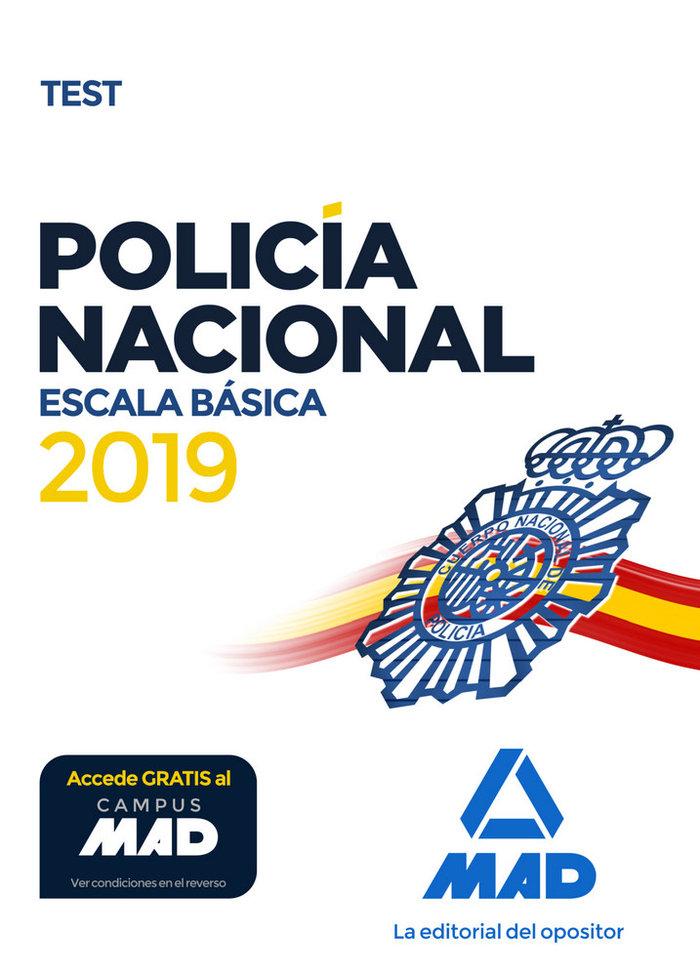 Policia nacional escala basica test