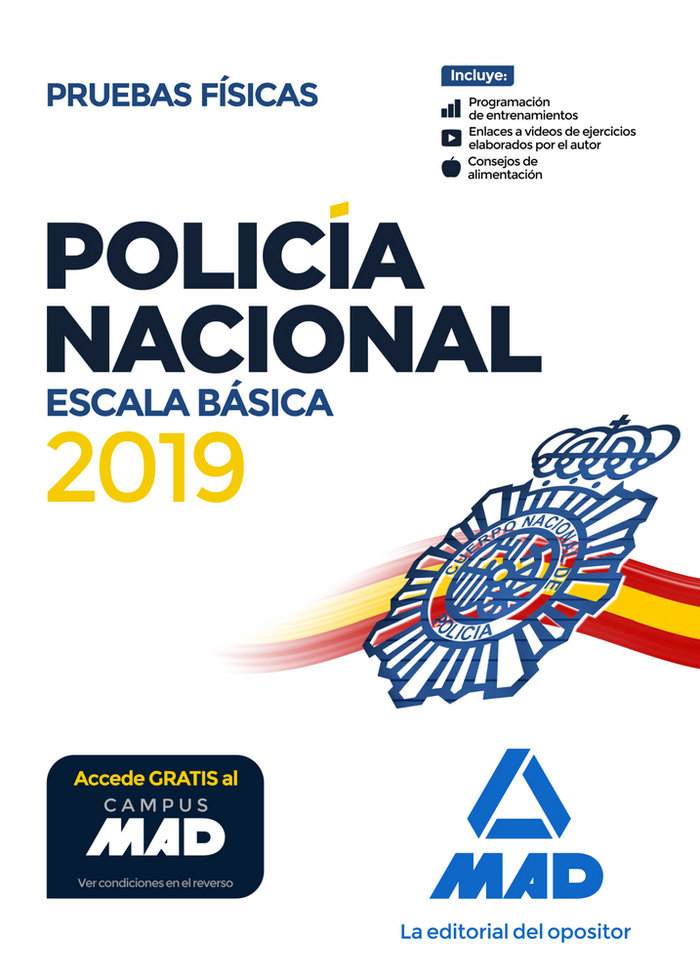 Policia nacional escala basica pruebas fisicas