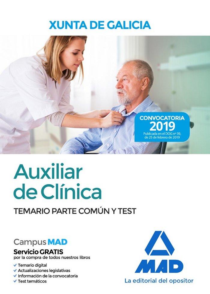 Auxiliar clinica xunta galicia temario parte comun
