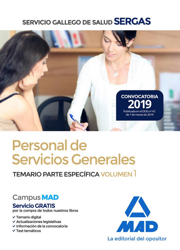 Personal servicios generales sergas vol 1 especifico 2019