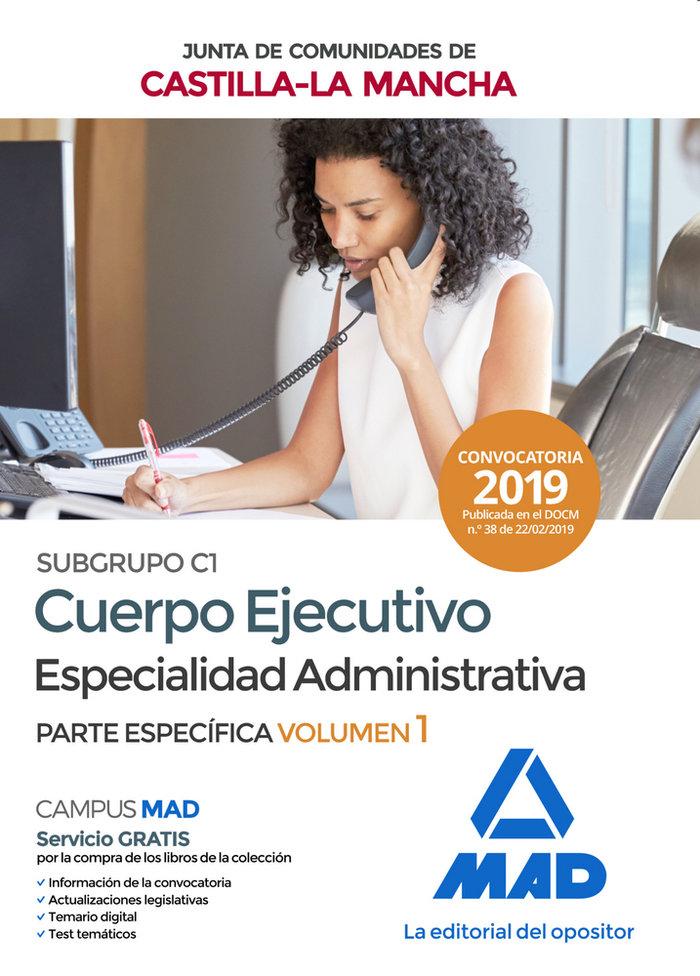 Cuerpo ejecutivo especialidad administrativa subgrupo c1 1