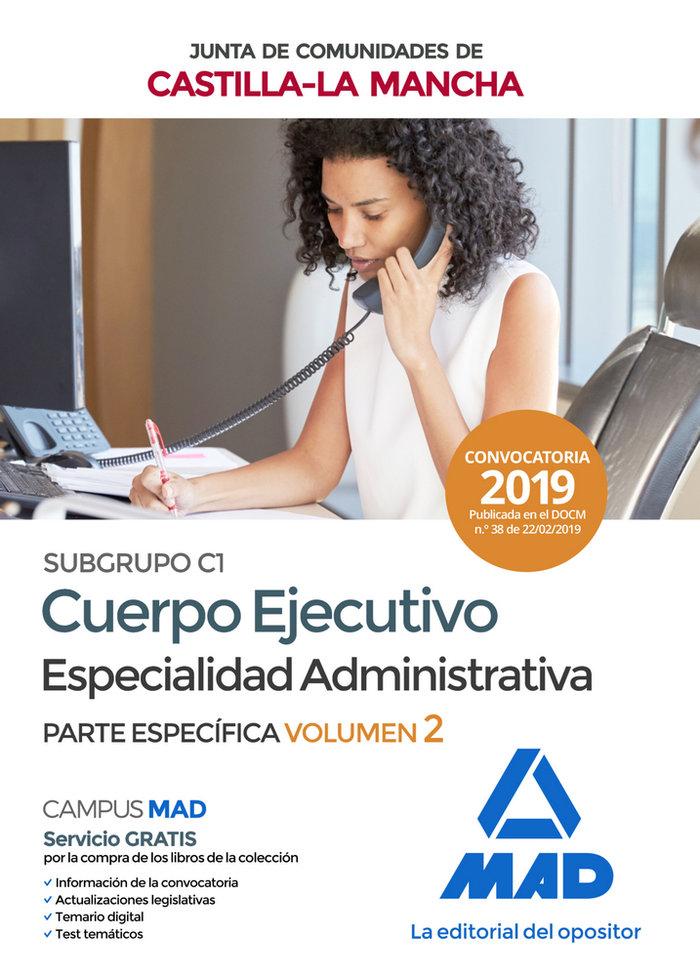 Cuerpo ejecutivo especialidad administrativa subgrupo c1