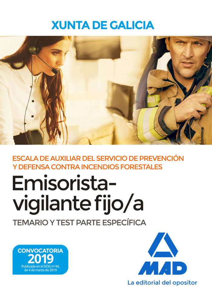 Escala auxiliar servicio prevencion y defensa galicia test