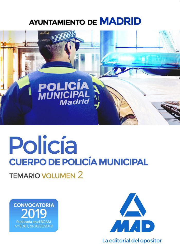 Policia cuerpo policia municipal ayuntamiento madrid vol 2