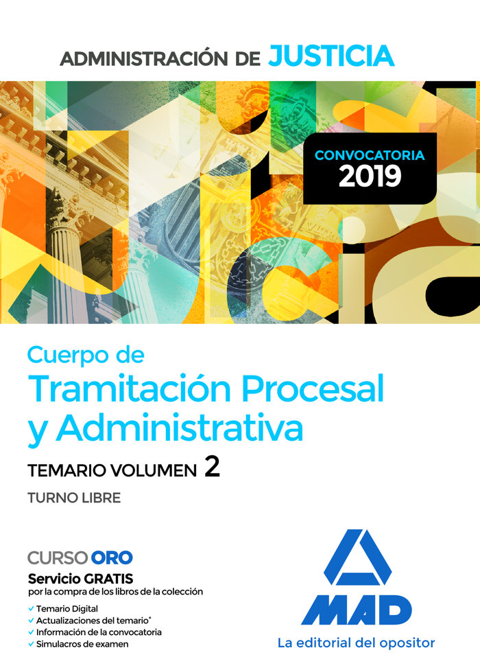 Cuerpo tramitacion procesal y administrativa vol 2