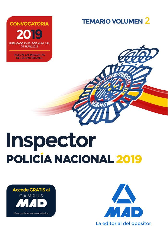 Inspector de policia nacional temariovol 2