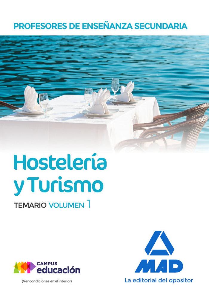Profesor enseñanza secundaria hosteleria y turismo vol 1