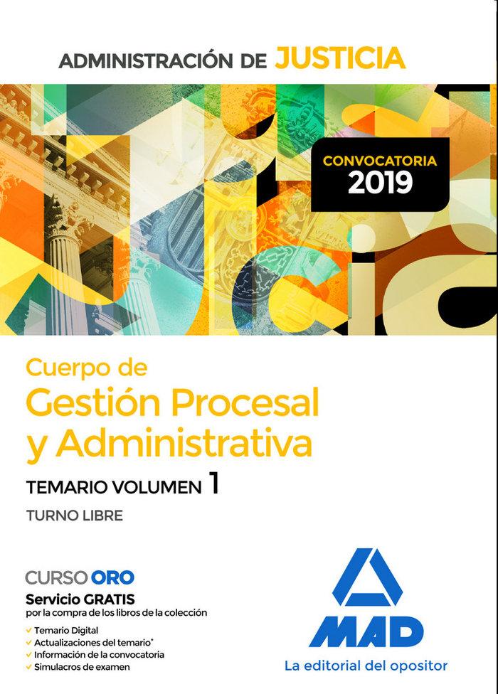 Cuerpo gestion procesal y administrativa administracion 1