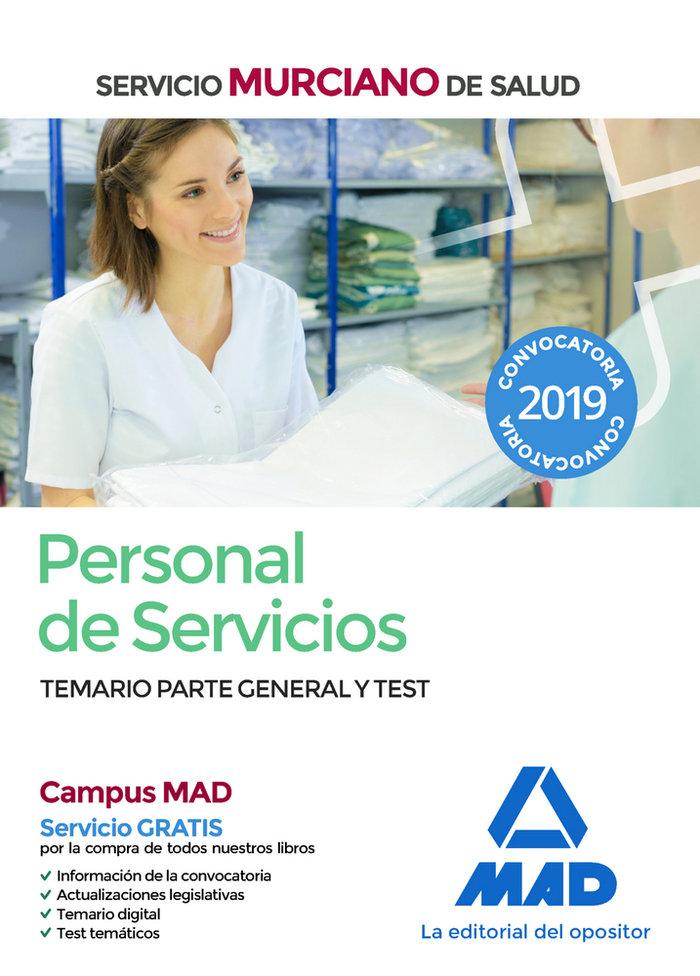 Personal servicios murciano de salud temario test