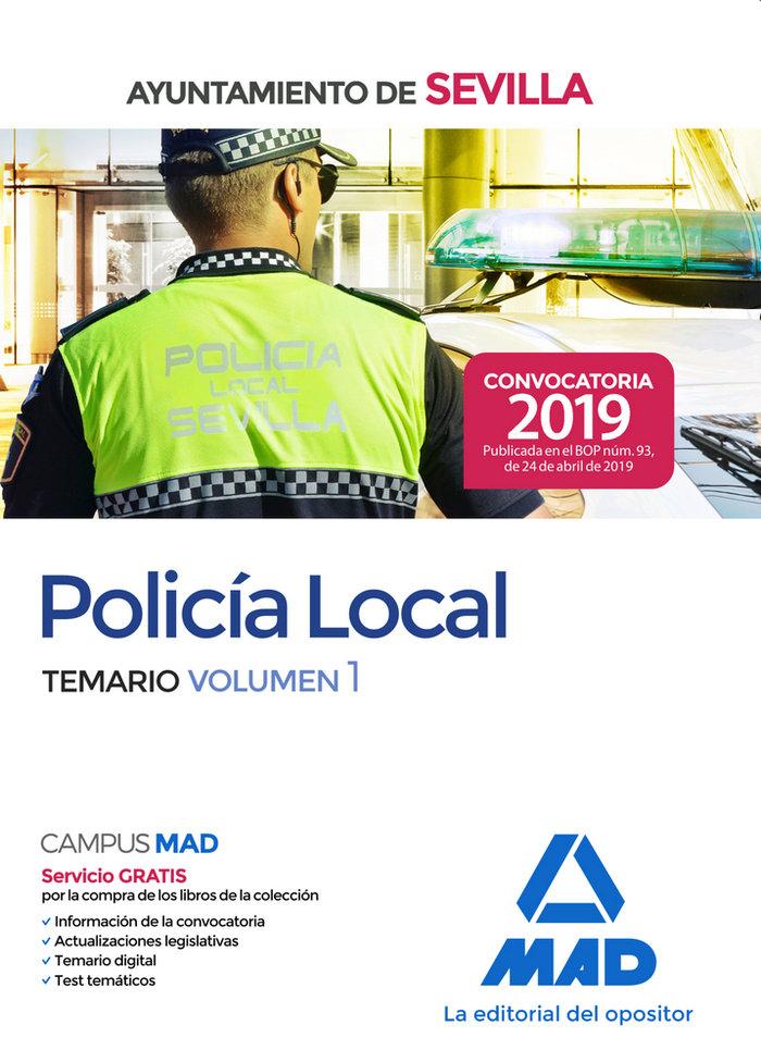 Policia local ayuntamiento de sevilla temario volumen 1