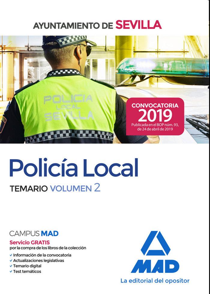 Policia local ayuntamiento sevilla temario volumen 2
