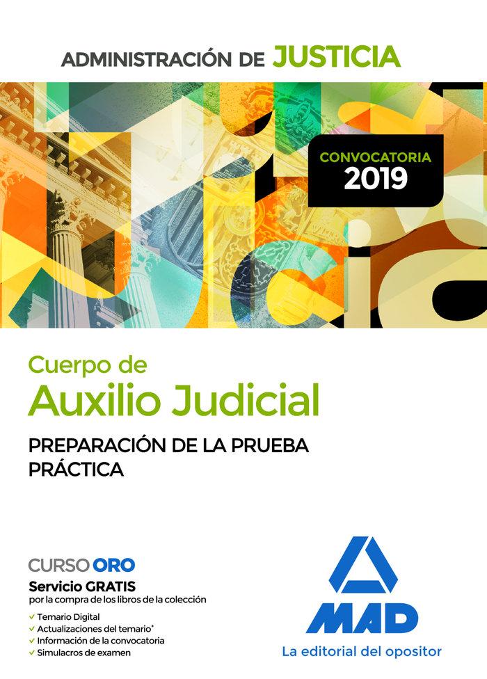 Cuerpo auxilio judicial administracion de justicia