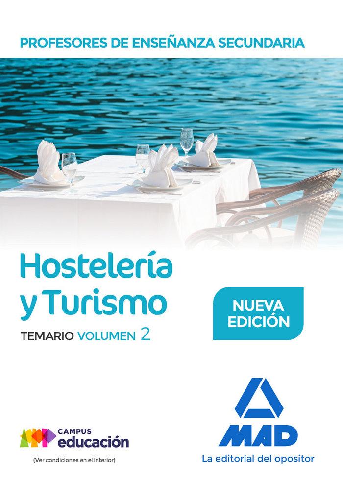 Profesor enseñanza secundaria hosteleria y turismo vol 2