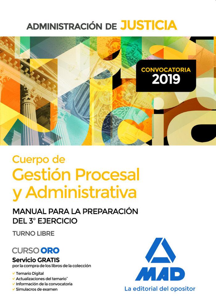 Cuerpo gestion procesal y administrativa administracion spo