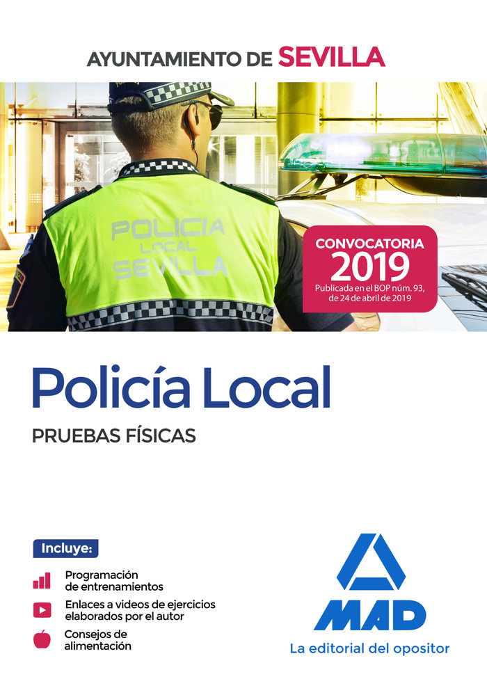 Policia local del ayuntamiento de sevilla pruebas fisicas